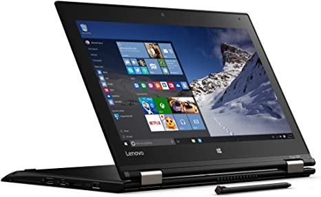 "Lenovo Yoga 260 Business Convertible - 20FD002HUS (12.5"" FHD, Intel Core i5-6300U 2.4GHz, 8GB DDR4, 256GB SSD, Fingerprint Reader, Windows 10 Pro 64)"