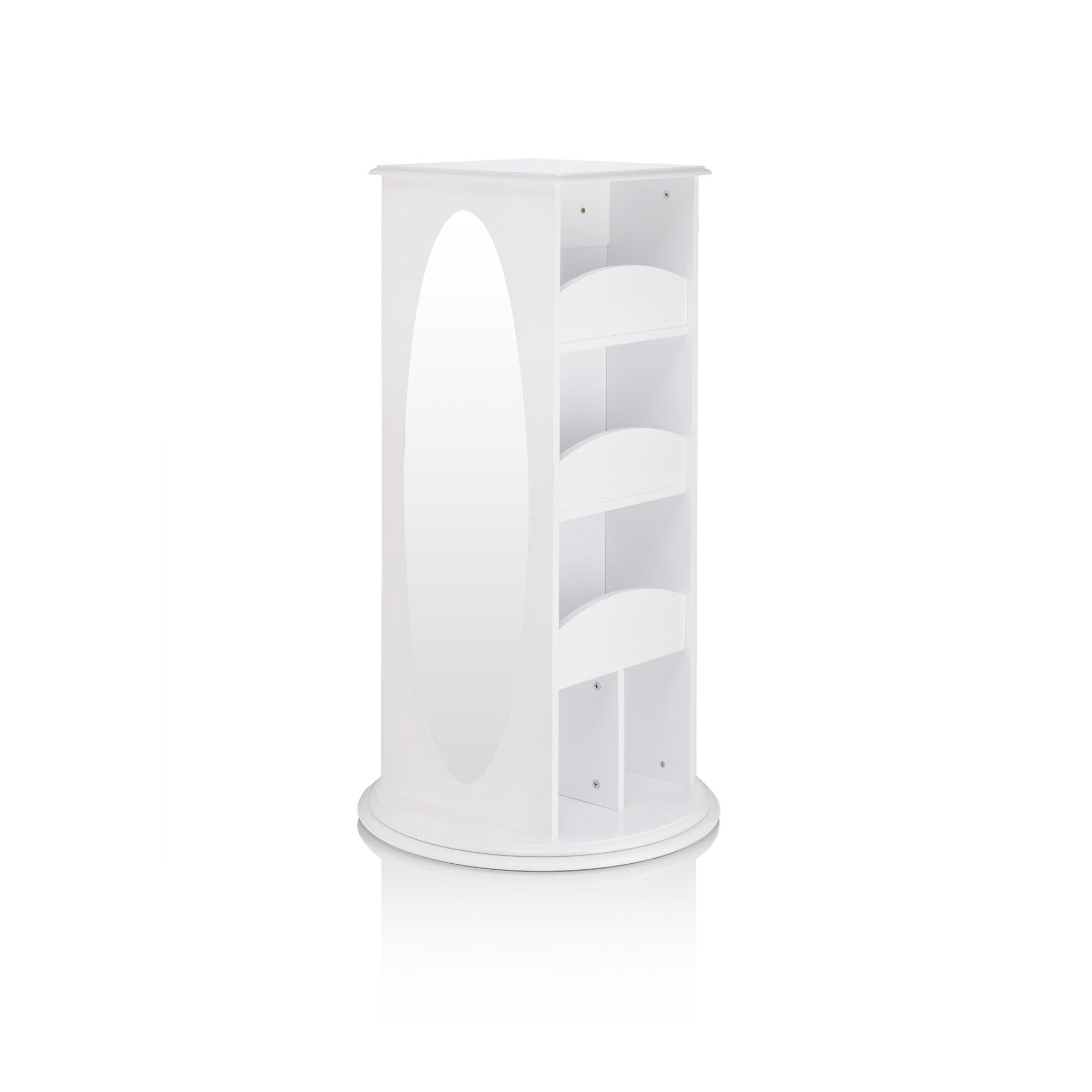 Guidecraft Rotating Dress-Up Storage Center White - Armoire, Dresser Kids' Furniture