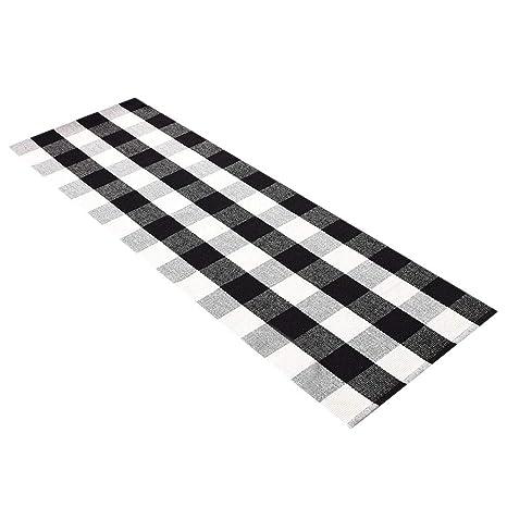 Black And White Tartan Sr Carpet Carpet Vidalondon