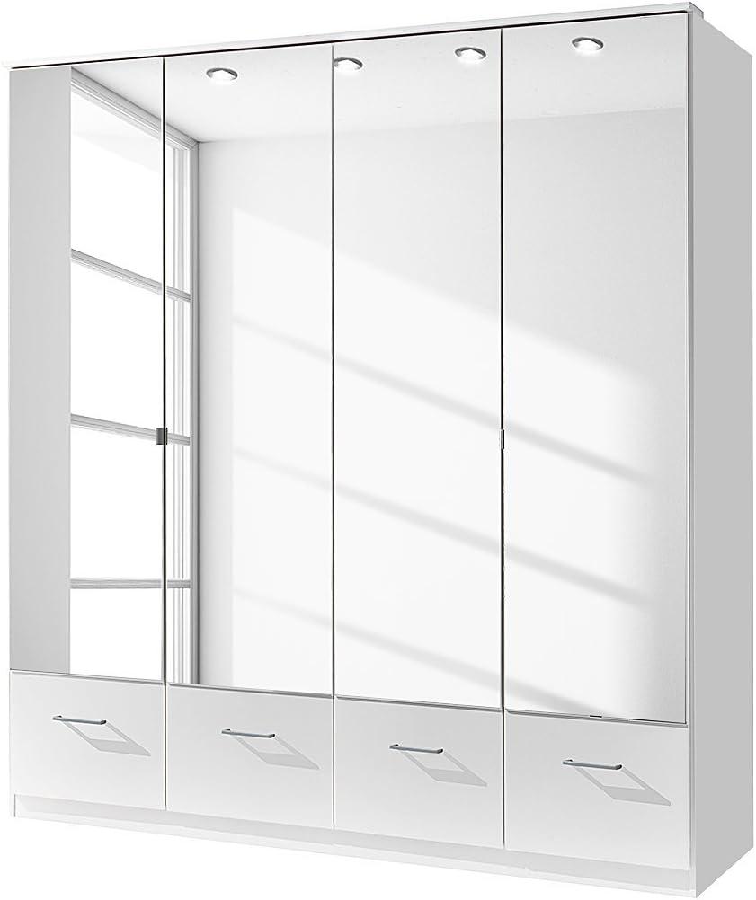 180 x 199 x 58 cm Wimex Kleiderschrank// Dreht/ürenschrank Imago, Wei/ß B//H//T
