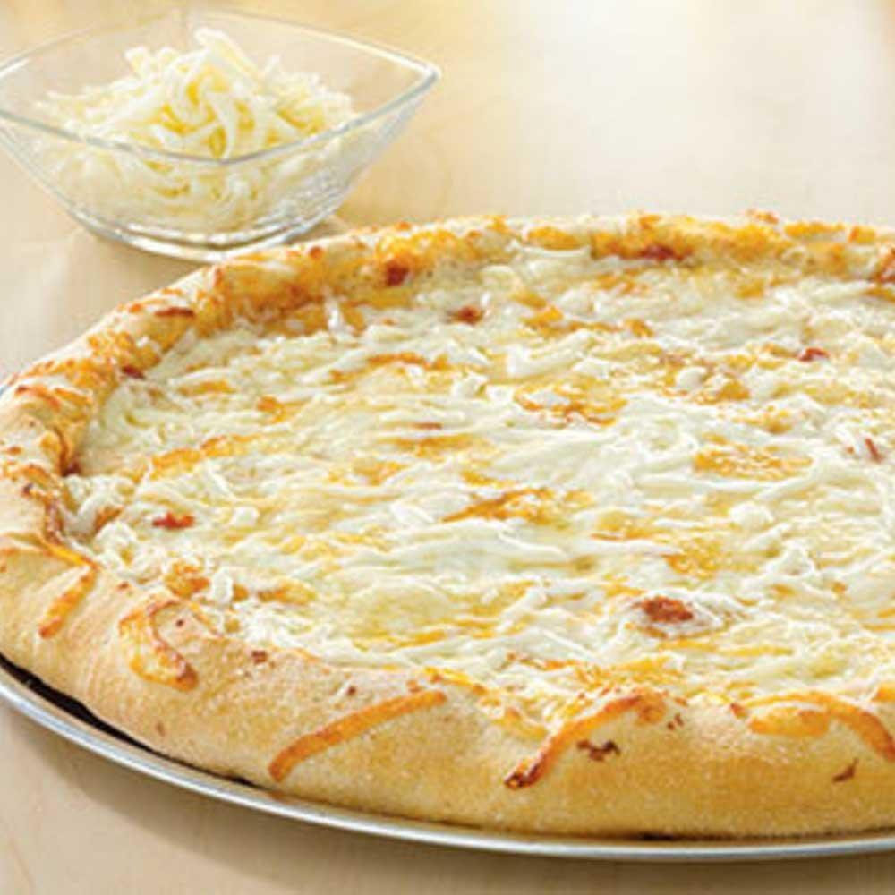 Villa Prima Scratch Ready Cheese Pizza, 16 inch -- 9 per case.