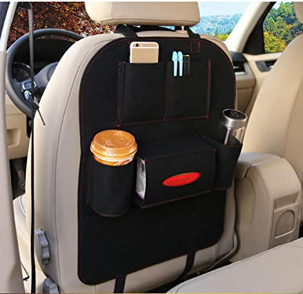 Amazon Elaco Auto Car Back Seat Organizer Car Covers Back Seat