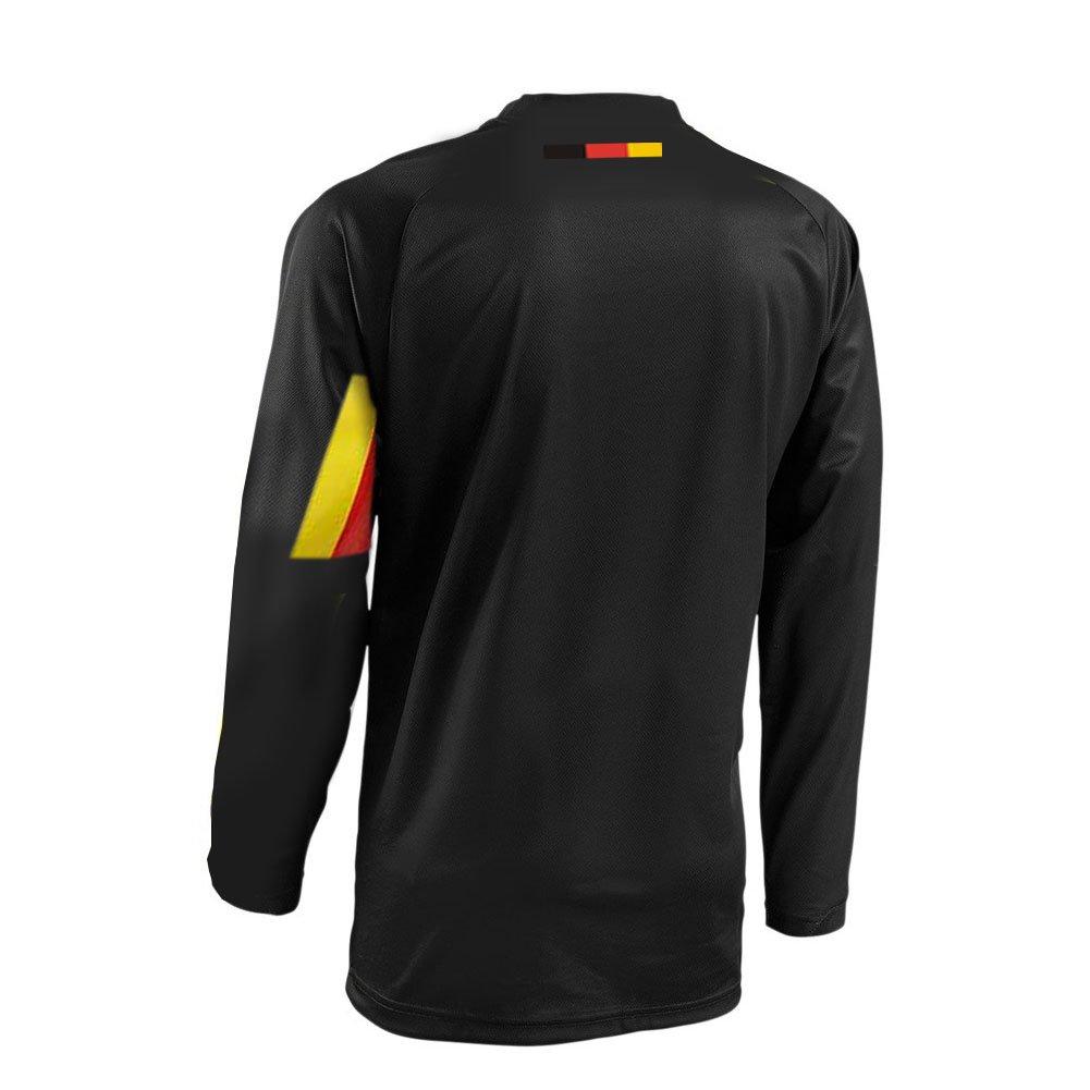 Uglyfrog Mountainbike Wear 2019 Downhill Trikot Lange Kurze /Ärmel Herren Freeride BMX Fahrradtrikot Motocross MTB//Downhill Bekleidung Z05