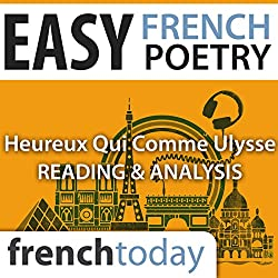 Heureux qui comme Ulysse (Easy French Poetry)
