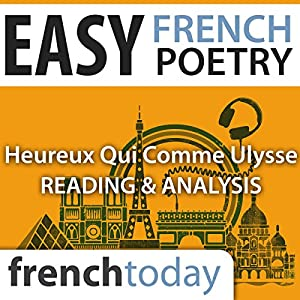 Heureux qui comme Ulysse (Easy French Poetry) Audiobook