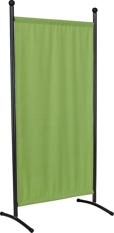 Angerer 606 02 Classic Stellwand eisengrau, Bezug Swingtex, apfel grün
