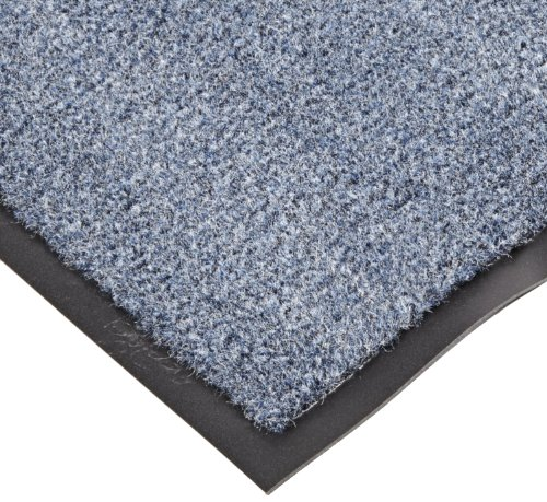 NoTrax T37 Fiber Atlantic Olefin Entrance Carpet Mat, for Wet and Dry Areas, 3' Width x 5' Length x 3/8