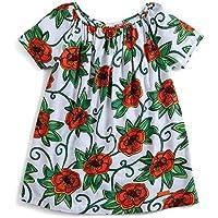 Vestido Florescer Laranja - Infantil