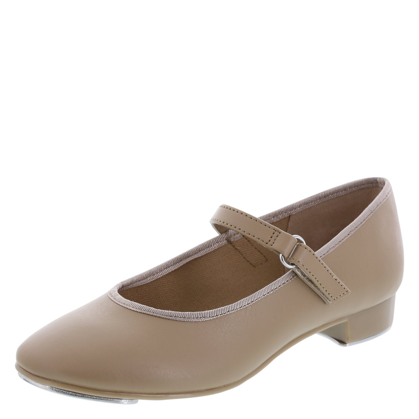 American Ballet Theatre For Spotlights Girls' Mary Jane Tap Shoe Tan 8