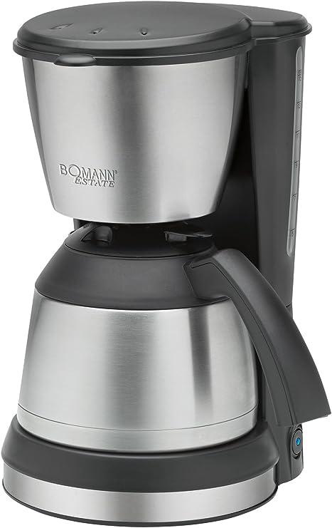 Bomann KA 1370 CB Cafetera de goteo con jarra termo, capacidad 8 ...
