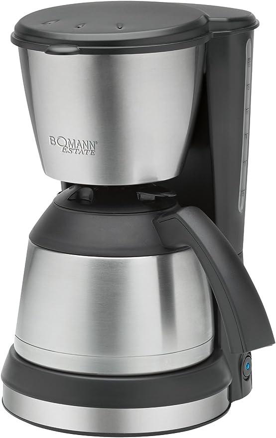 Bomann Ka 1370 Cb Thermo Kaffeeautomat Edelstahl Schwarz Amazon De