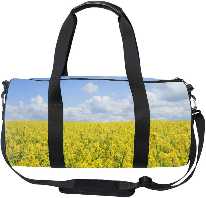 Art Bright Celebration Gym Bag Sports Duffel Bag Barrel Holdall Bag For Travel Gym Sports Bag