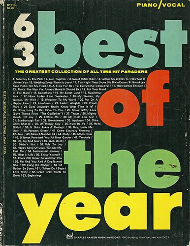 63 Best of the Year - Chromatic Harmonica - The Greatest Collection of All Time Hit Paraders