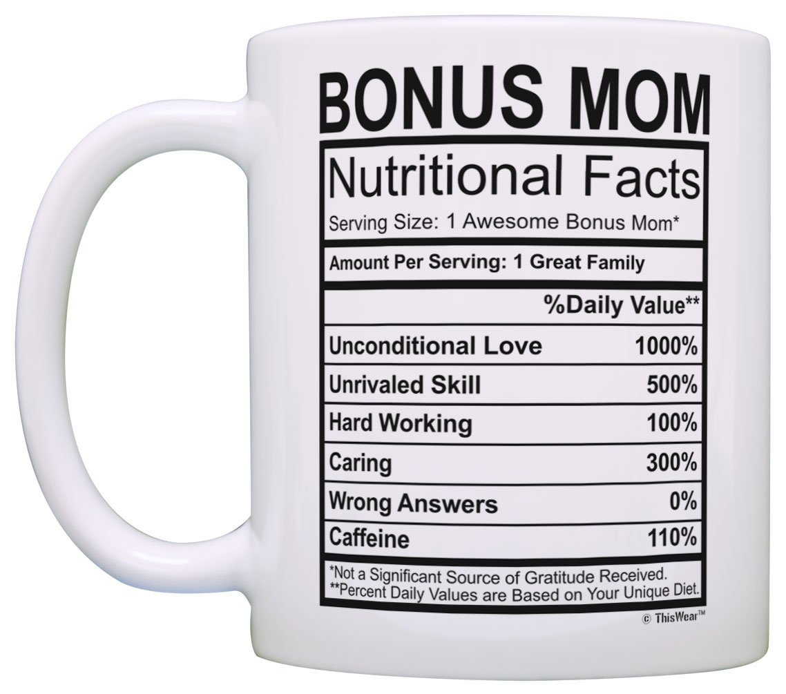 Amazon.com: Mothers Day Gifts for Stepmom Bonus Mom Nutritional ...