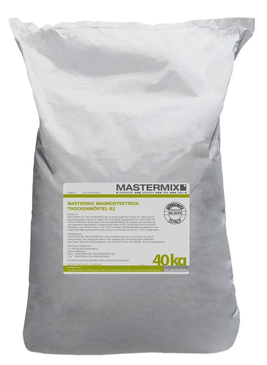 MASTERMIX Magnesia-M/örtel Steinholzestrich Weiss