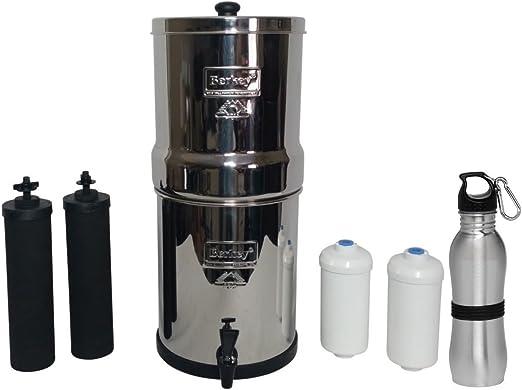 Berkey - Juego de filtro de agua de alta calidad, con 2 filtros ...