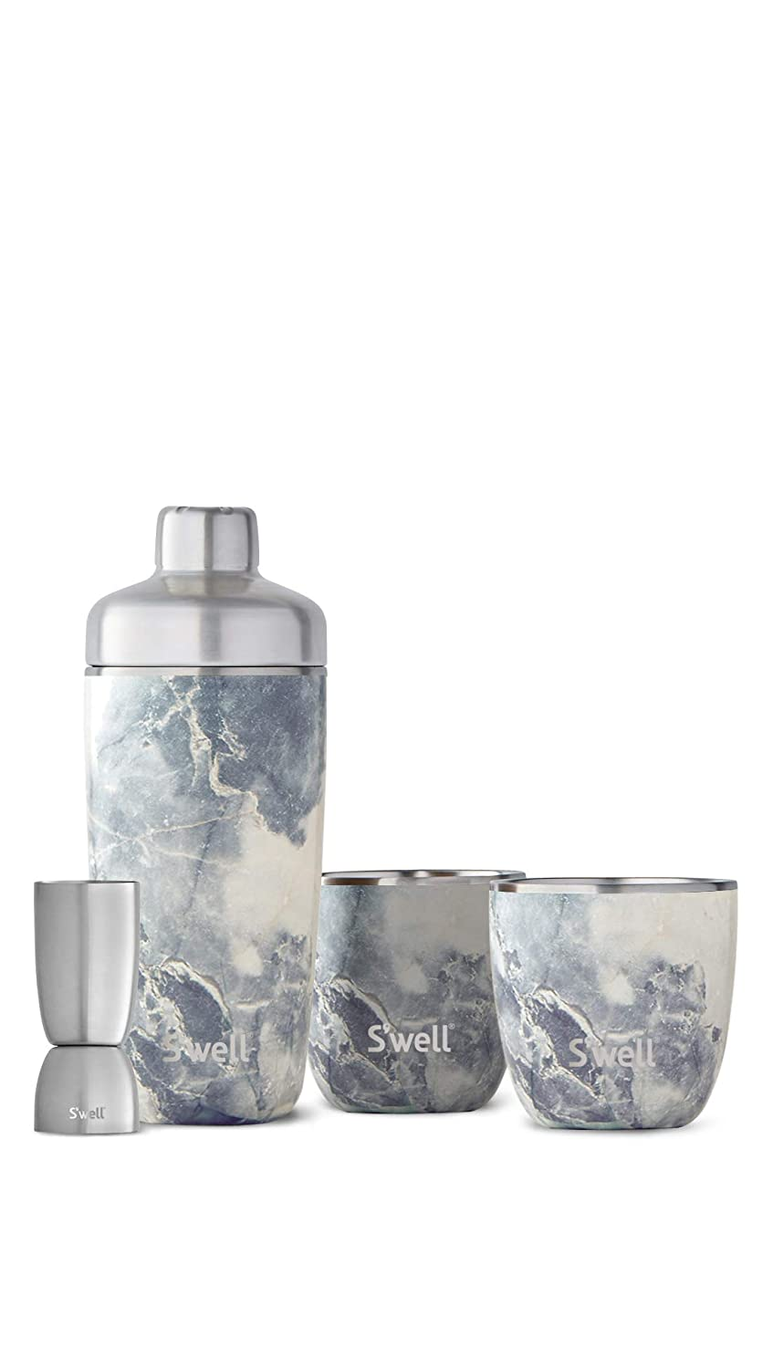 Swell Bottles Barware Water Bottle One Größe Blau Granite Bareware Set