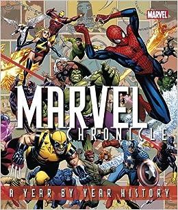 Risultati immagini per Marvel Chronicle