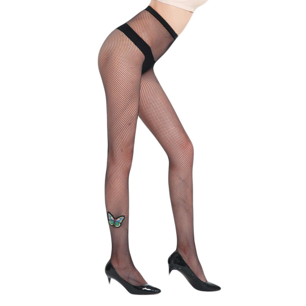 b1f037c01a Amazon.com: Women's Tights,Lavany Elastic Sexy Women Butterfly Pattern  Fishnet Stockings Tights for Women Girls (A): Health & Personal Care