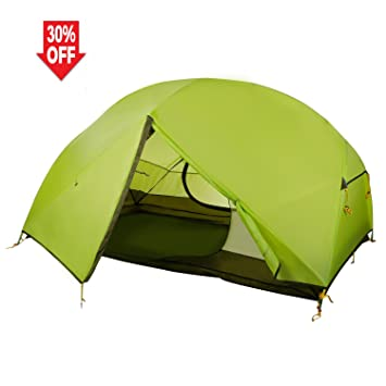 WolfWise 2 Person Backpacking Tent Ultralight for C&ing Hiking Travel Green  sc 1 st  Amazon.com : 2 person hiking tent - memphite.com