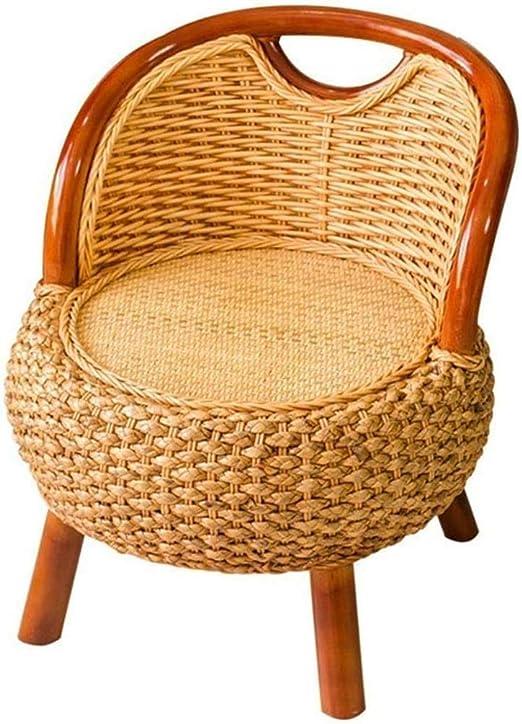 Asilo de Niños Sillón Silla de bastón al Aire Libre Jardín Sillón, sillones reclinables Silla del Ocio, hogar Sillón de Madera Maciza Balcón Tumbona: Amazon.es: Hogar