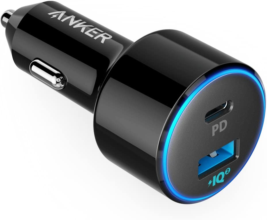 Amazon Com Usb C Car Charger Anker 49 5w Powerdrive Speed 2 Car Adapter With One 30w Pd Port For Macbook Pro Air 2018 Ipad Pro Iphone Xs Max Xr X 8 S10 S9 And One 19 5w Fast Charge Port You'll receive email and feed alerts when new items arrive. usb c car charger anker 49 5w powerdrive speed 2 car adapter with one 30w pd port for macbook pro air 2018 ipad pro iphone xs max xr x 8 s10 s9