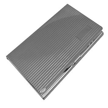 Visitenkartenetui Silber 925 Sterling Fadenmuster 9 5x5 5 Cm