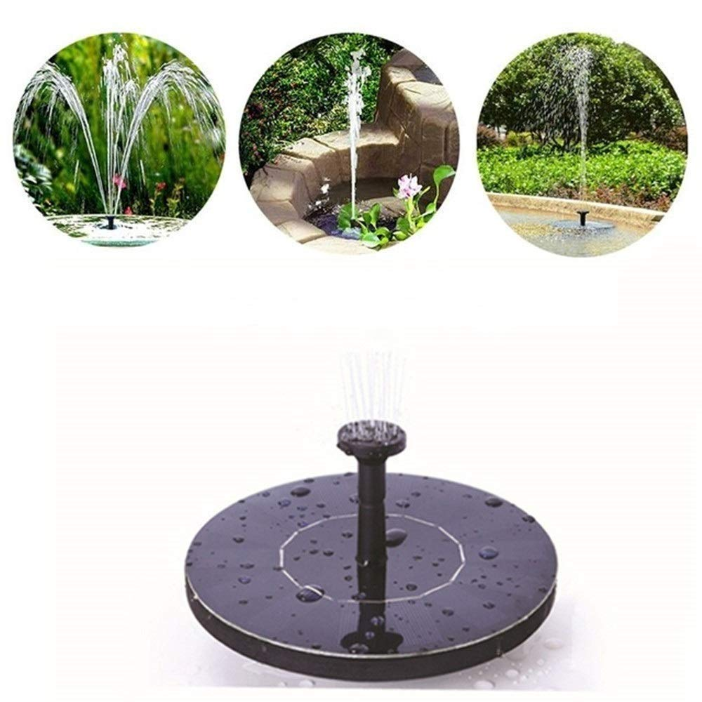 Adeeing Solar Fountain Pump, Outdoor Water Submersible Pump, Free Standing Water Pumps with 1.4W Solar Panel for Garden Pool Pond Patio product image