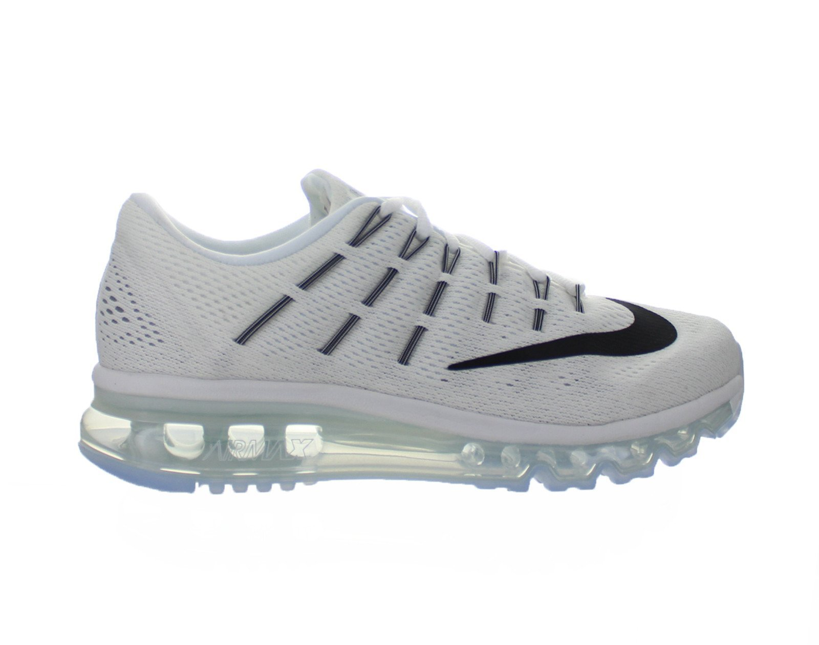 cheap for discount f06af 11f9c Galleon - Nike Women s Air Max 2016 Summit White White Black Mesh Running  Shoes 6 M US