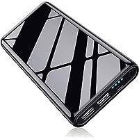 Kilponen Power Bank 25800mAh [Acabado Brillante] Batería Externa Ultra Capacidad Cargador Portátil Móvil Carga Rapida con 2 Puertos Salidas USB 2.1A y 1.0A Batería Portátil para Móvil Tabletas y Más