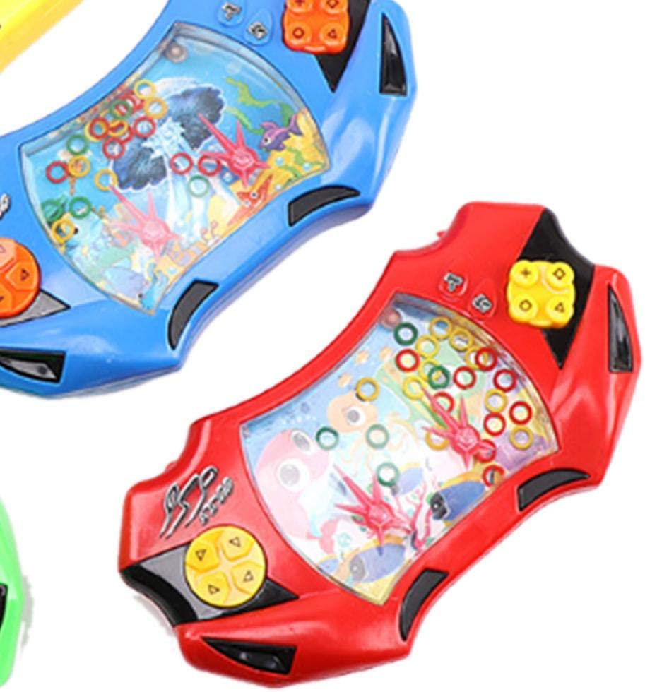 Childhood Classic Toy Funny Water Console Game Toy Handheld Games Water Ring Circle Game Color Randomly