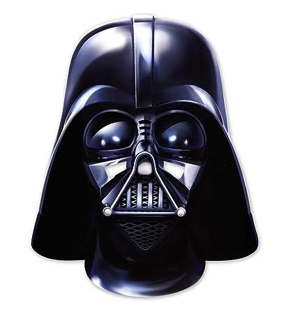 Máscara de cartón para fiestas Star Wars - Darth Vader