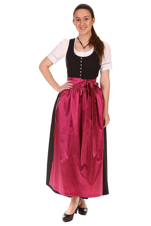 Turi Landhausmode Damen Dirndl schwarz D431010 Carolina (Dorothea) o. Schü
