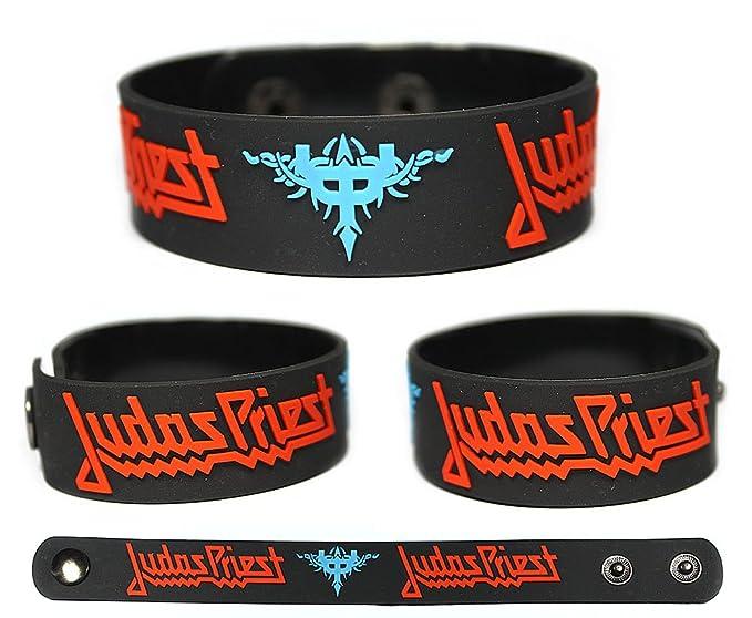 JUDAS PRIEST Rubber Bracelet Wristband Redeemer of Souls Painkiller