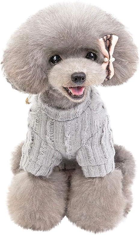 Lookhy suéter de Color sólido para Mascotas, para otoño e Invierno ...