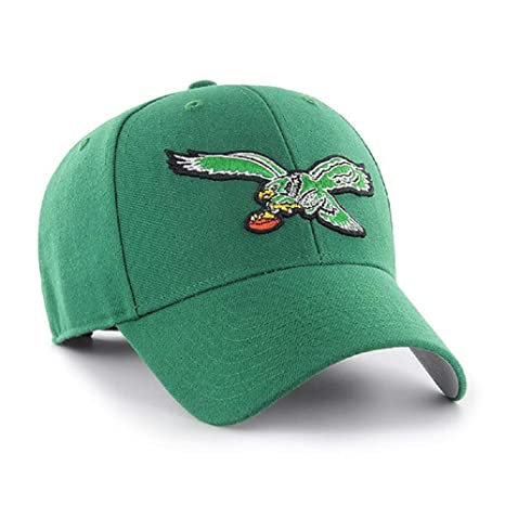 ffeb3af925aae Amazon.com    47 Philadelphia Eagles NFL MVP Throwback Retro Green Hat Cap  Adult Men s Adjustable   Sports   Outdoors