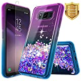 Galaxy S8 Active Case w/ [Tempered Glass Screen Protector],...