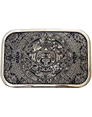 FITYLE Indian Hip Hop Western Cowboy Native American Calendar Style Belt Buckle