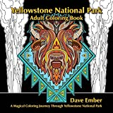 Yellowstone National Park, Adult Coloring Book