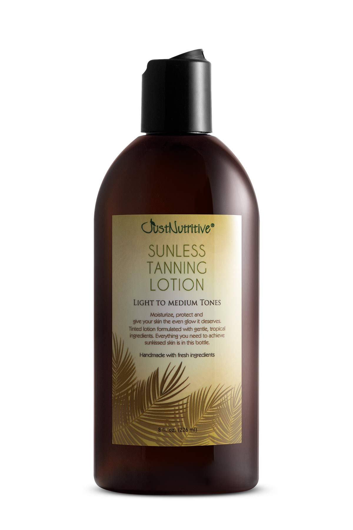 Sunless Tanning Lotion - Light to Medium tones by Just Nutritive