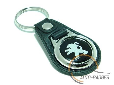 auto-badges - Llavero imitación, diseño Peugeot: Amazon.es ...