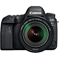 Canon EOS 6D Mark II Premium Kit with EF 24-105mm IS STM Digital Camera - SLR(6DIIPK) 3Inch Display,Black (Australian…