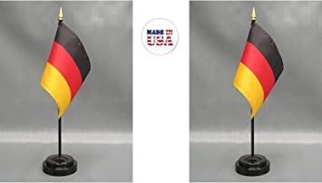 "4/""x6/"" Greece Stick Flag Table Staff Desk Table"