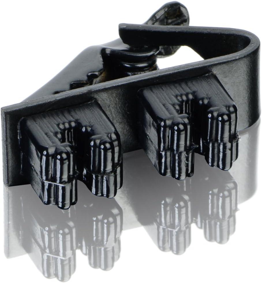 Countryman AEMWDCLIPB EMW Lavalier Double Tie Clip Black