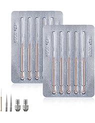 Tobeape Mole Removal Pen Needles - 10 Fine Needles and...