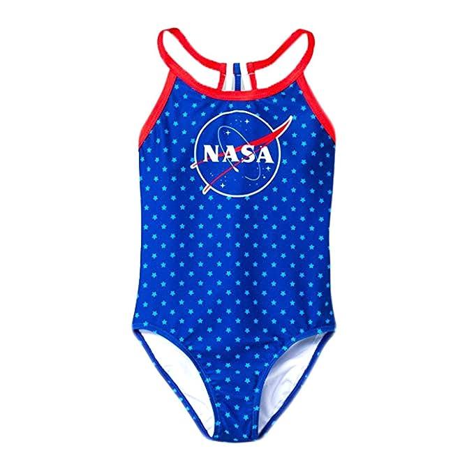 Amazon.com: NASA - Traje de baño de una pieza con estrellas ...