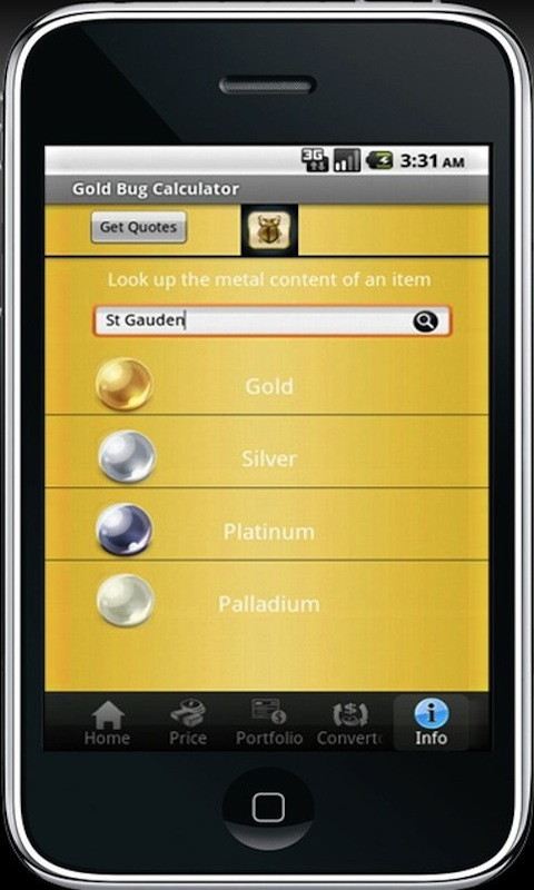 Amazon com: Gold Bug Calculator: Appstore for Android