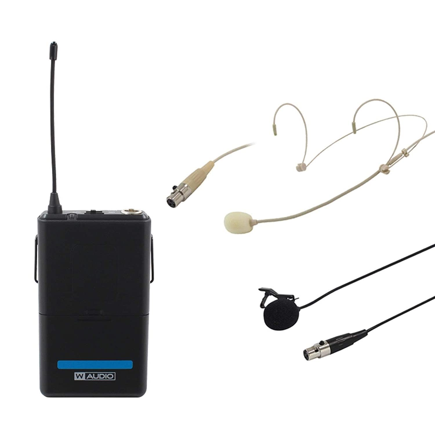 W Audio RM Quartet Clip de Corbata/Solapa Kit (863,42 Mhz): Amazon ...