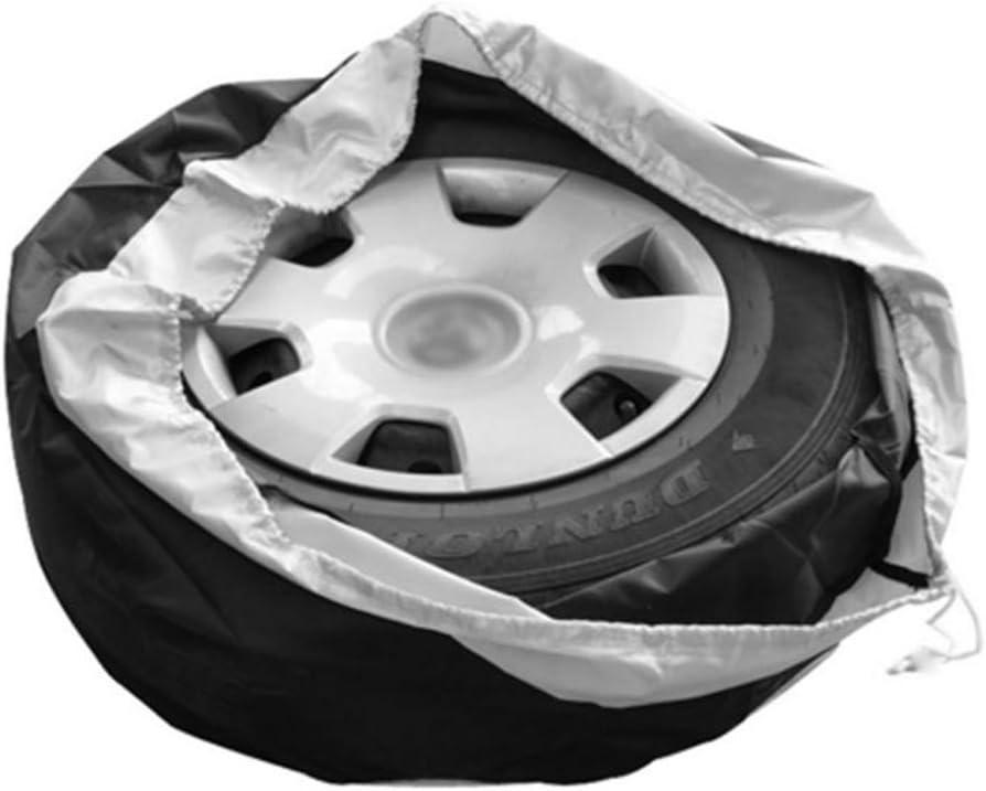 Reifenschutz Aufbewahrungstasche Gelentea Auto-Radabdeckung 65 cm strapazierf/ähiger Oxford-Stoff 1 Reifenabdeckung