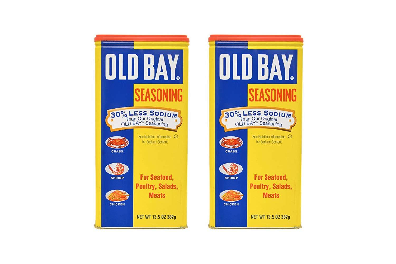 Old Bay Seasoning 30% Less Sodium 13.5 OZ (2 Pack)